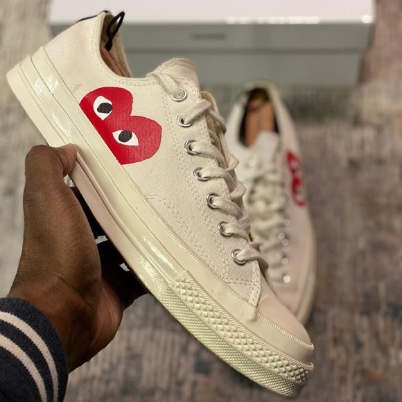 des Garcons Shoes   Converse   Poshmark